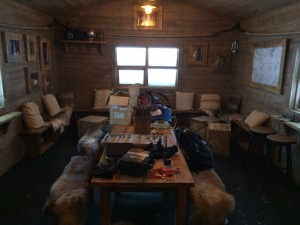 Rescue Hut Inside