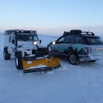 Vehicles in the cold